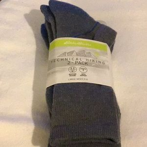Eddie Bauer Moisture Wicking Mens Hiking Socks